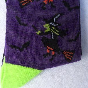 New Ladies SOCKS *FLYING WITCHES* NWT